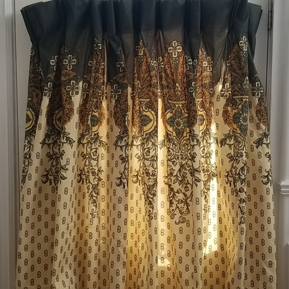 Vintage Other - Bohemian style curtains
